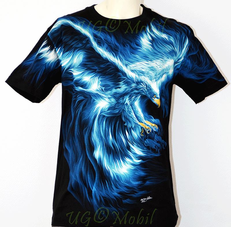 T-Shirt - Adler blau Eagle