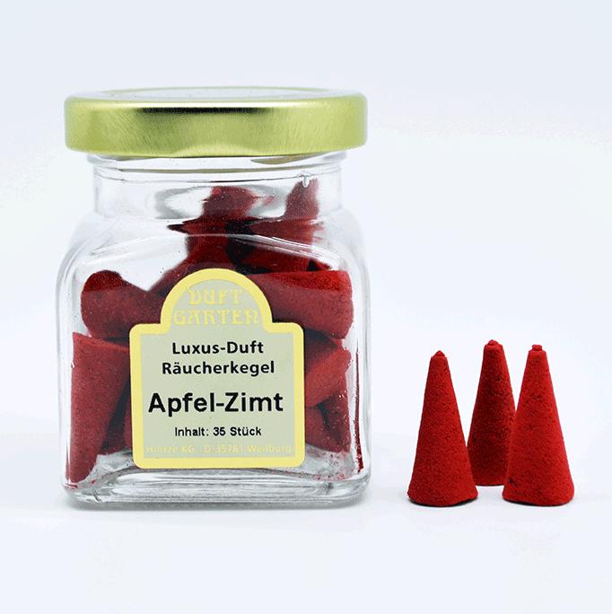 Räucherkegel - Apfel-Zimt 35 Stück