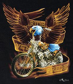 Kinder - T-Shirt  Biker Adler