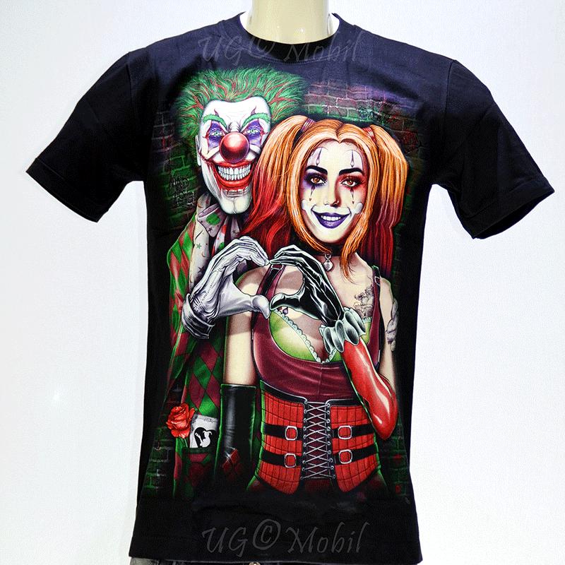 T-Shirt - Clown Paar