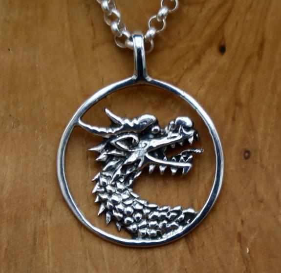 Drachen - Amulett
