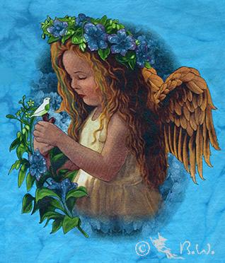 Kinder - T-Shirt  Engel