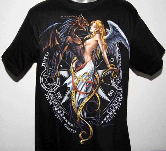 T-Shirt  Elfe & Drache
