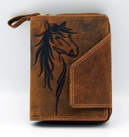 Damenbörse Pferd Geldbeutel Jockey Club