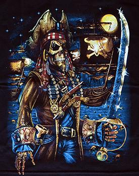 Kinder - T-Shirt  Piratenkapitän