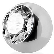 Kugel Stahl 1,2 mit Steinchen