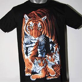 T-Shirt   Tigerfamilie