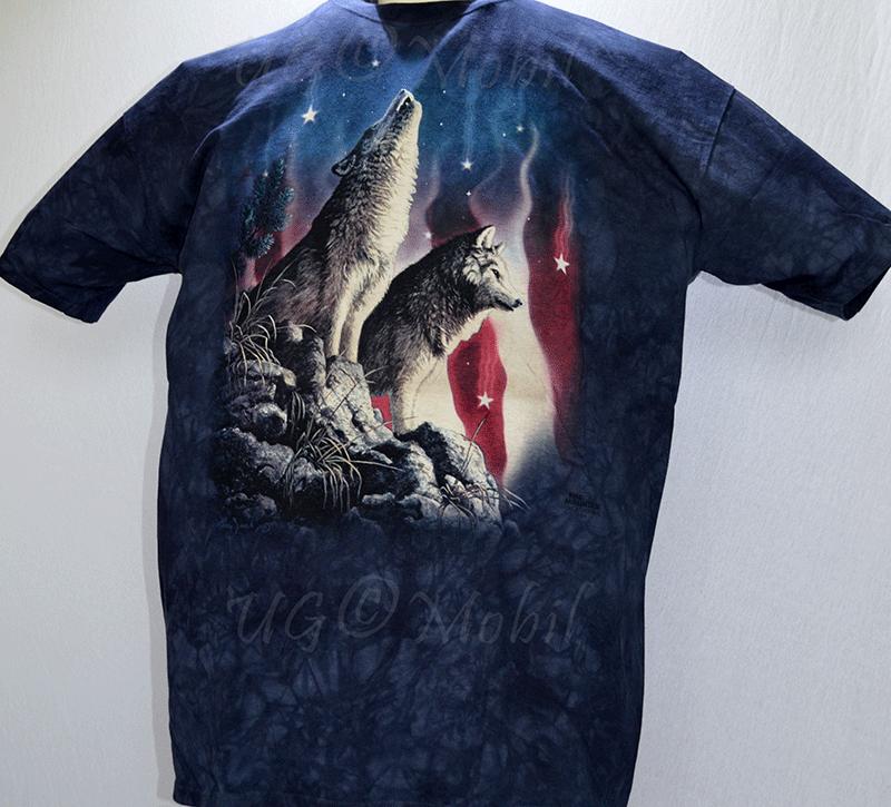 T-Shirt  2 Wölfe  XXXL
