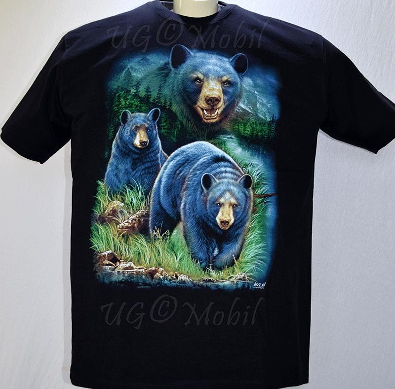 T-Shirt  Bären  XXXL