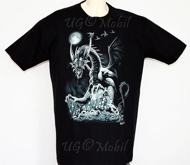 T-Shirt  Drache  XXXL