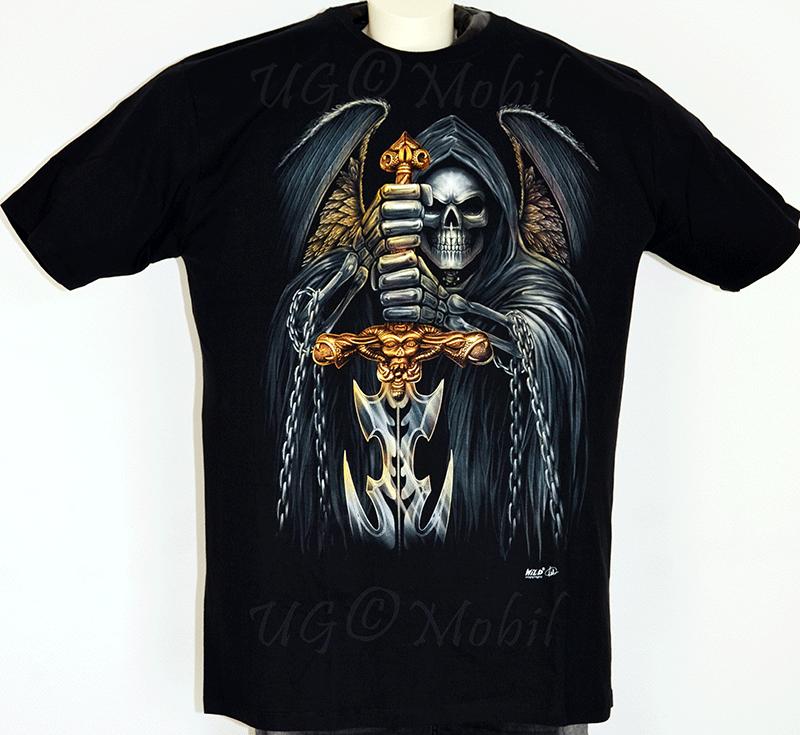 T-Shirt  Skull - Schwert